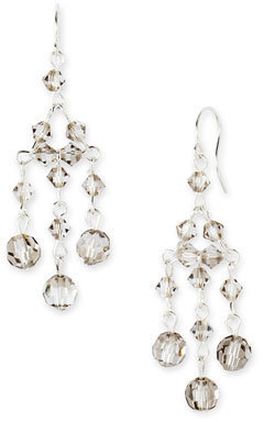 Nordstrom Crystal Collection Small Crystal Chandelier Earrings