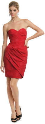 Tracy Reese Candy Apple Jacquard Dress