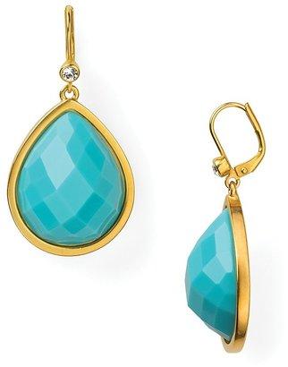 T Tahari Stone Drop Earrings