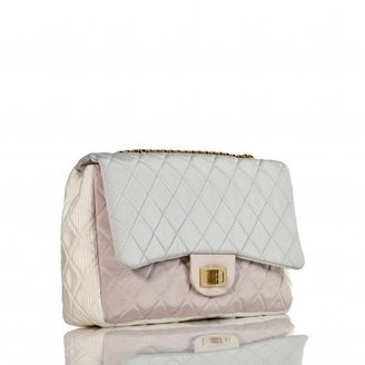 Chanel pristine (PR Pastel Nylon Jumbo Classic Flap Bag - Reissue