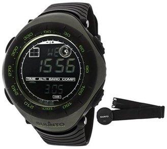 Suunto Men's Vector HR Digital Multi-Function Black Silicone SS018730000 Watch