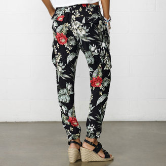 Denim & Supply Ralph Lauren Floral Island Cargo Pant