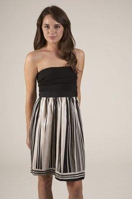 Corey Lynn Calter Dakota Strapless Dress in Black $181 thestylecure.com