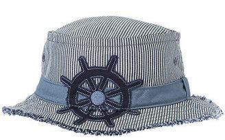 Gymboree Captain's Wheel Stripe Bucket Hat