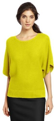 Chaus Women's Solid Boat Neck Sweater