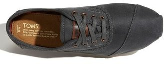 Toms 'Cordones' Waxed Canvas Sneaker (Men)