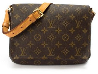 Louis Vuitton brown monogram 'Musette Tango Short' vintage shoulder bag