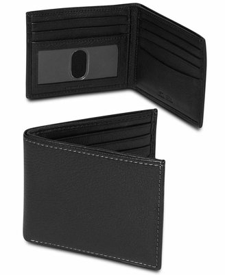 Tasso Elba Milled Slim Billfold Wallet $40 thestylecure.com