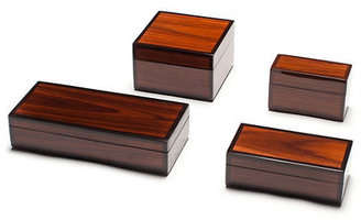 Gump's Rosewood Lacquered Box Collection