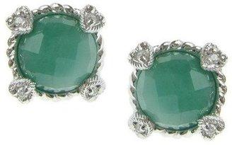 Judith Ripka Sterling Birthstone Stud Earrings