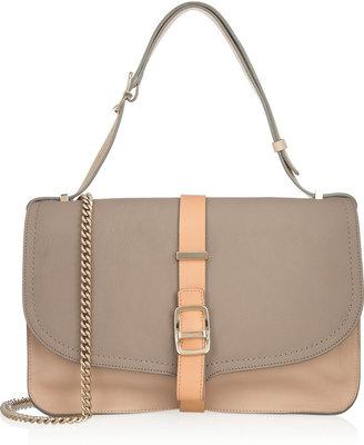 Victoria Beckham Tri-tone leather shoulder bag