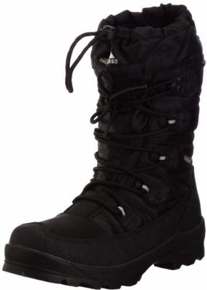 Trespass Yetti, Black, 41, Waterproof Winter Boots for Men, UK Size 7, Black
