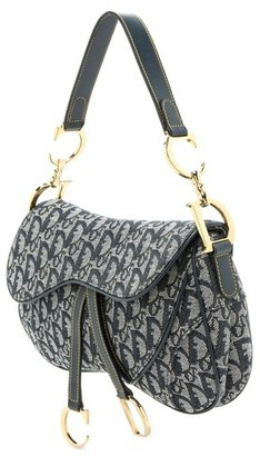 WGACA What Goes Around Comes Around Dior Canvas Saddle Bag