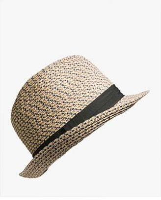 Forever 21 Multi-Colored Woven Fedora