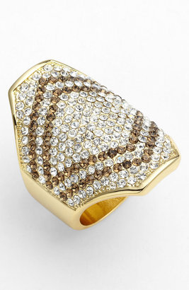 Vince Camuto Chevron Cocktail Ring