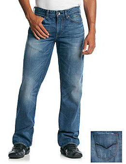 GUESS Men's Expedition Wash 'Desmond' Relaxed/Easy Fit Jean