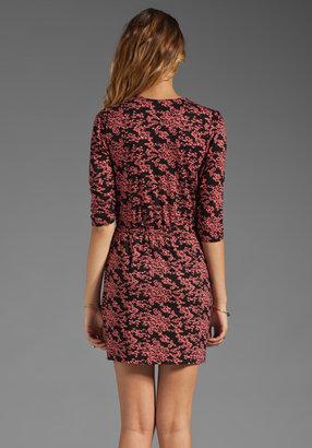 Plenty by Tracy Reese Printed Jersey Surplice Dress