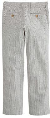 Ludlow Boys' suit pant in seersucker