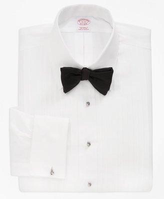 Brooks Brothers Traditional Fit Ten-Pleat Tennis Collar Tuxedo Shirt