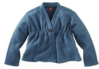 Tea Collection Sparkly French Terry Jacket (Little Girls & Big Girls)