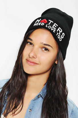 Urban Outfitters UNIF Haters Need Love Beanie