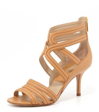 Michael Kors Sidney Leather Sandal