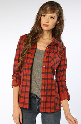 Quiksilver QSW The Ski Lodge Flannel Shirt