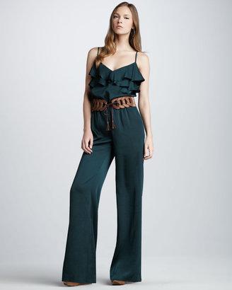 Single Dress Single Elle Belted Jumpsuit