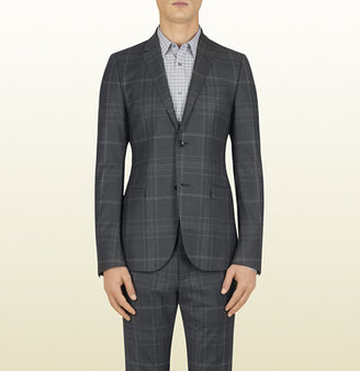 Gucci Grey Check Flannel Dylan Jacket