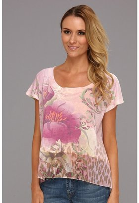 Roper Jersey Boxy Top Sublimation Print (White) - Apparel