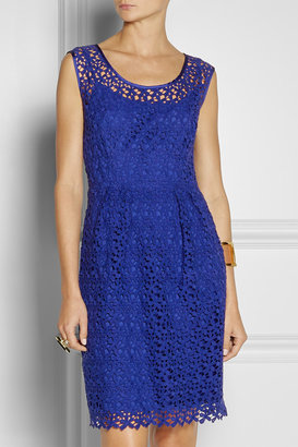 Collette Dinnigan Collette by Cotton-lace dress