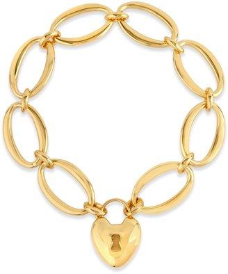 Dinny Hall Gold Handmade Large Bracelet