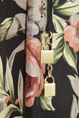 Zimmermann Keeper floral-print silk dress