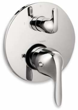 Hansgrohe E Thermostatic Trim with Volume Control