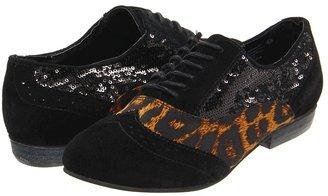 Naughty Monkey Prints Charming (Black) - Footwear