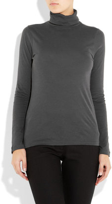 J.Crew Tissue cotton turtleneck top