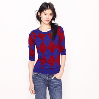 J.Crew Tippi sweater in argyle