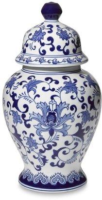 Williams-Sonoma Porcelain Lidded Temple Jar
