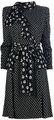 Ungaro Pre-Owned spotty print dress