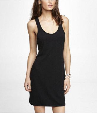 Express Pocket Tank Shirt Dress