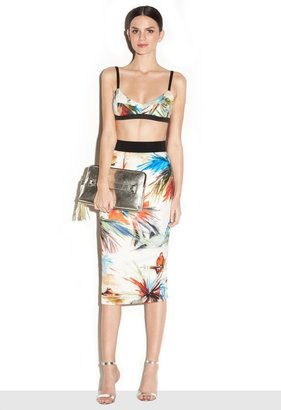 Milly Long Pencil Skirt