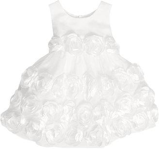 Bonnie Baby Baby Girls' Matte Satin Flower Girl Dress