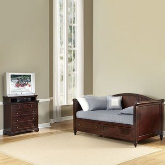 Lafayette 2-pc. daybed & 5-drawer media chest