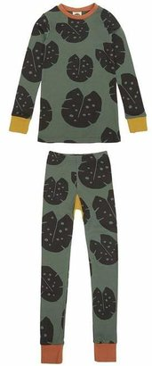 The Bright Company Monstera Forest Slim Jyms Pyjamas 2-8 Years