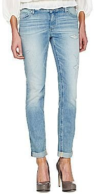 JCPenney a.n.a® Perfect Skinny Destructed Jeans