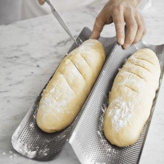 Chicago Metallic Nonstick Baguette Pan, 2 Loaves