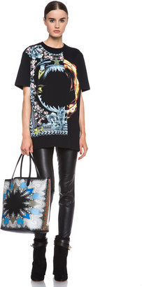 Givenchy Orgy vs. Flame Cotton Tee in Black