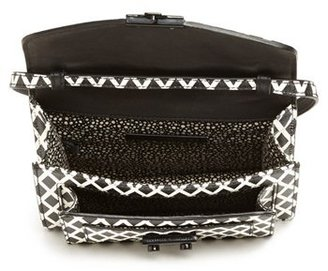 Loeffler Randall 'Rider - Mini' Leather Crossbody Bag