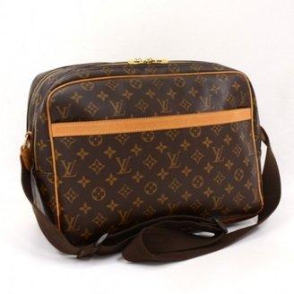 Louis Vuitton excellent (EX Brown Monogram Canvas Reporter GM Shoulder Bag