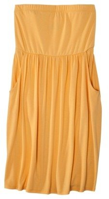 Mossimo Petites Strapless Short Dress - Assorted Colors